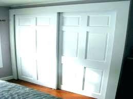 bi pass closet door hardware doors x sliding mirror with rough opening medium size of sizes