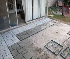 8 grid 50x50x4 5cm diy driveway paving pavement mold concrete stepping stone mould paver com