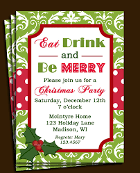 Sample Of Christmas Party Invitation Sample Christmas Party Invitation Magdalene Project Org