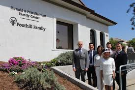 """Foothill Family on Twitter: """"Foothill Family's Duarte Center is now  officially the Donald & Priscilla Hunt Family Center! We are proud to  partner with a philanthropic family whose generosity and community care"""