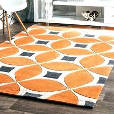 orange and gray area rugs grey and orange area rug s burnt orange and green area