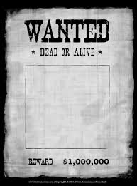 Make Your Own Wanted Poster Free Rome Fontanacountryinn Com