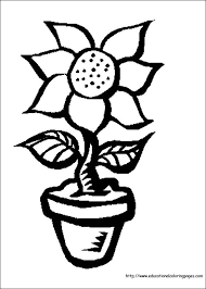 coloring pages for kids flowers. Contemporary Pages For Coloring Pages Kids Flowers A