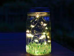 lighting in a jar. Make A Firefly Inspired Summer Mason Jar Lighting In