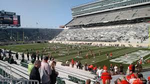 Spartan Stadium Section 5 Rateyourseats Com