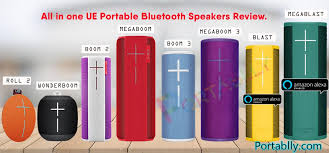 Mp3 Player Comparison Chart Top 10 Best Ue Bluetooth Speaker Comparison 2019 Full
