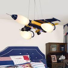 childrens pendant lighting. Modern Kids Room Lamps Iron Plane Glass Lampshade Pendant Lights Creative Children\u0027s Bedroom Rural Cartoon Childrens Lighting T