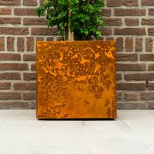Cor ten steel Wall Yoepplanter Set Complete Corten Steel Panels Green Future Yoepplanter Set Complete Corten Steel Panels Yoepplanter