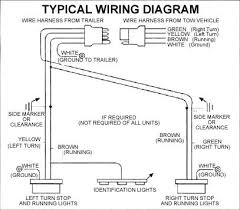 trailer wiring diagram 4 flat schematics and wiring diagrams wire harness 40 39 wishbone bulk af 002240 trailer wiring