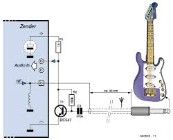 simple guitar transmitter circuit cellar most guitar amplifiers operate off the ac power line an electric guitar fitted continue reading →