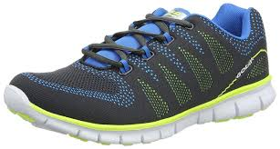 Amazon Com Gola Active Mens Tempe Trainers In Charcoal