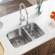 Mr Direct Stainless Steel 28 X 18 Double Basin Undermount Kitchen