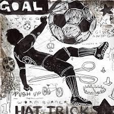 rough game sports soccer wall art decor