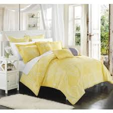 Clay Alder Home Fruita Yellow Oversized Reversible 8-piece Comforter Set (3  options available