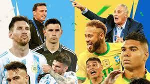 Copa America final, Argentina vs Brazil ...