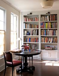traditional bookcase design ideas home office traditional with ceiling lighting reading room round dining table bookcase book shelf library bookshelf read office