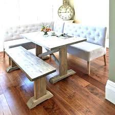 white farm table. Modern Farmhouse Table White Farm Bench E