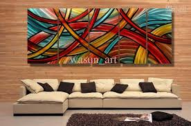 metal wall art abstract decor contemporary modern sculpture hanging