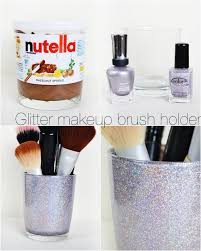 diy make up brush holder