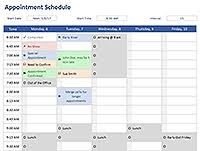 College Weekly Schedule Maker Free Schedules For Excel Daily Schedules Weekly Schedules