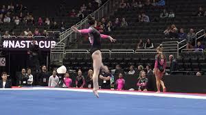 Gwendolyn Fink - Floor Exercise – 2020 Nastia Liukin Cup - YouTube