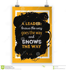 Motivate Leadership Leadership Motivate Quote Poster Design Rough Poster Design Vector