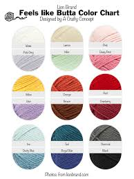 32 Matter Of Fact Yarn Colors Chart