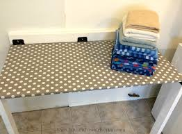 interior diy drop down laundry table housewives of riverton astonishing fold 0 fold down