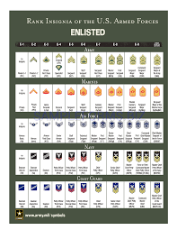Us Army Rank Chart Preview Pdf Rank Insignia Of The U S Armed Forces 2