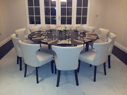 dining chairs and round table