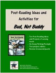 best bud not buddy unit images teaching reading post reading ideas and activities for concluding assessing bud not buddy by christopher