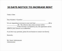 Rent Increase Form California California Rent Increase Notice Form Free California 60 Day Notice
