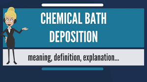 What Is Chemical Bath Deposition What Does Chemical Bath Deposition