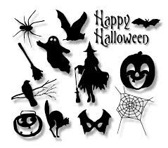 halloween svg files silhouette clipart