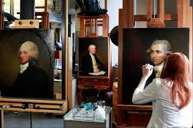 Conservation renews portraits of founding fathers