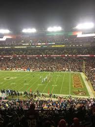 Fedex Field Section 318 Home Of Washington Redskins