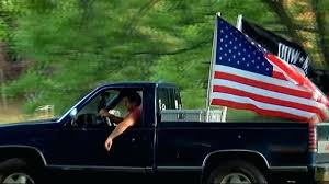 Truck Bed Flags South Teenager Told By High School To Remove Us Pow ...