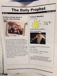 Newspaper Book Report Template Rubric For Newspaper Book Report