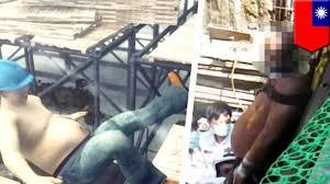 impaled construction worker falls onto exposed rebar punctures abdomen tomonews rebar worker