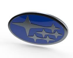 Subaru Logo | 3D CAD Model Library | GrabCAD