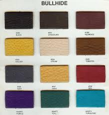 bullhide color chart for armlann