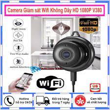 Camera Giám sát Wifi Không Dây HD 1080P Camera An Ninh IP HỒNG NGOẠI Nhìn  Đêm Camera QUAN SÁT Camera Mini tốt giá rẻ
