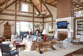 barn living room ideas decorate:  cdeb lliams barn living room library tables  bunny dm xln