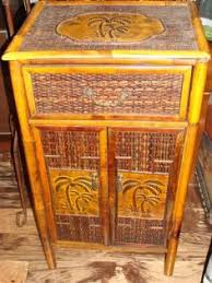 polynesian furniture. Polynesian Three Drawer Chest In Antique This Bedroom Collection Is Constructed Of Fine Rattan And Bamboo. The Great Looking Tropical\u2026 Furniture