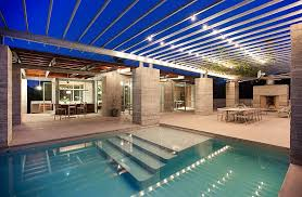 pool cage lighting. View In Gallery Smart Lighting For The Pool Area Cage