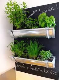 DIY Hanging Herb Garden from Gutters