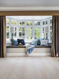 bay window designs for homes. Living Room - Contemporary Light Wood Floor Idea In London Bay Window Designs For Homes