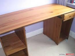 Ikea Matteus solid wooden desk