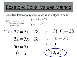 solving systems of equations by elimination calculator with steps math example equal values method solve the