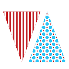 Printable Flag Banner Template - ClipArt Best